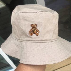 Brown bear fisherman hat